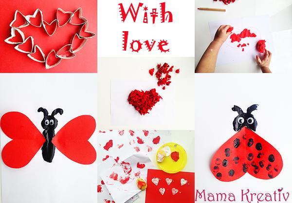 malen und basteln zum valentinstag mit kindern mama kreativ. Black Bedroom Furniture Sets. Home Design Ideas