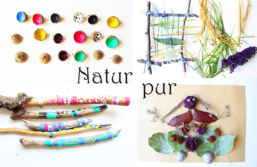 basteln mit naturmaterialien mal anders video mama kreativ